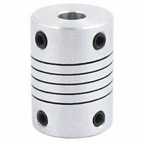6mm to 8mm Shaft Coupling 25mm Length 18mm Diameter Stepper Motor Coupler A