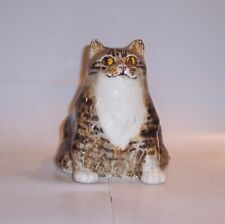 More details for winstanley cat kitten size 2 tabby and white podgy sitting