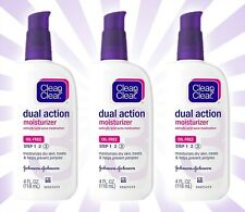 3 Clean & Clear Essentials Dual Action Facial Moisturizer 4 OZ