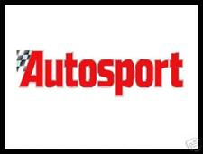 AUTOSPORT MAGAZINES  - Huge Selection!!  1950s to 2000s