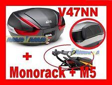 SUZUKI GSF BANDIT S K7 K8 VALIGIA BAULETTO V47NN + TELAIO 539FZ + SPALLIERA + M5