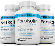 x3 Pure Weight loss Extreme 800mg FORSKOLIN Coleus Forskohlii 20% extract