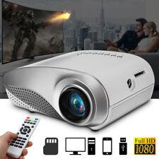1080P 3D Full HD Projektor LED Heimkino Beamer Projektor USB VGA HDMI Pocket