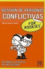 ROOKIES GESTION DE PERSONAS CONFLICTIVOS (For Rookies) (Spanish Edition), book,