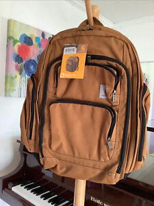 NWT Carhartt 8918033702 Signature Deluxe Work Backpack bag brown