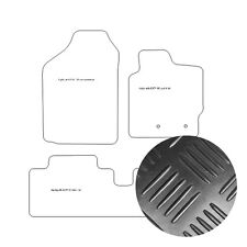 Rubber Toyota Yaris 3dr & 5dr 01-2006 to 01-2011 Tailored Car Mats