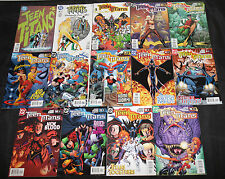 DC Copper-Modern TEEN TITANS TITLES 168pc Mid-High Grade Comic Lot VF-NM Robin
