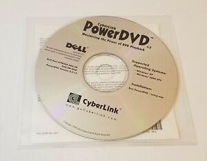 CyberLink PowerDVD v4.0 PC Dell Windows XP / 2000 SP2