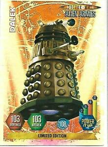 Doctor Who Alien Armies Limited Edition Dalek - PANINI  - RARE