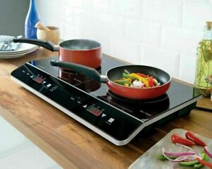 2800W Portable Digital Twin Induction Hob Double Electric Cooker Hot Plate Large