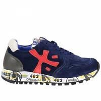 Premiata Junior sneaker mod.Mick 0368 blu grigio (2PJ)