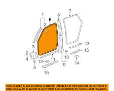 TOYOTA OEM 03-08 Matrix INTERIOR TRIM-Opening Molding Left 6231401011B0