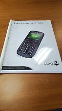 DORO PHONE EASY 506 PRINTED INSTRUCTION MANUAL USER GUIDE 52 PAGES