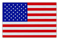 Flag Magnet - USA United States of America - Red, White and Blue - Large Size!