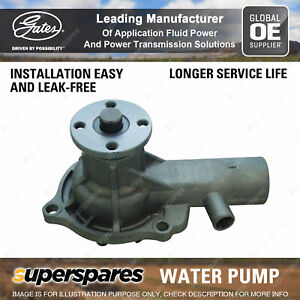 Gates Water Pump for Holden E Series EH H Series HR HD GMH 179 186 2.9L 3.0L