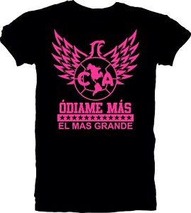 Club America Mexico Aguilas Camiseta Tee T Shirt Odiame Mas Soccer Football