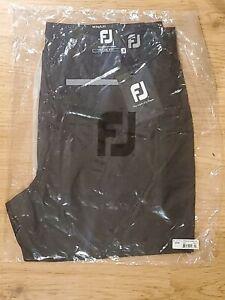New! FootJoy Mens Slim Fit Performance Golf Trouser BLACK W34/L32 RRP $150