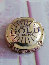 Capsule de Champagne PIERRE MIGNON Prestige Gold Doré à l'or Fin Violet.