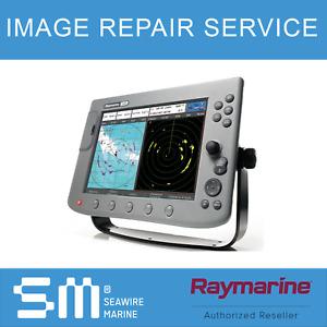 Raymarine C120 C80 C70 LCD Image Repair with Software Upgrade   1 YEAR WARRANTY!
