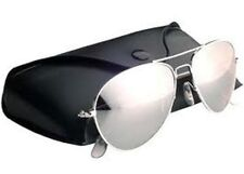Pilot Sunglasses CHROME Silver Mirror Lenses Aviators style
