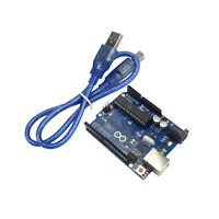 Official Arduino UNO Rev3 R3 328 ATMEGA328P Board With Free USB Cable Latest