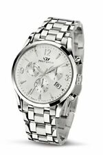 Armbanduhr  Philip Watch Herren Sunray Chronograph Quarz Edelstahl silber