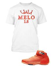 b0cb1537899 Tee Shirt to Match Jordan Melo 1.5 Shoe Big and Tall or small Graphic T  Shirt