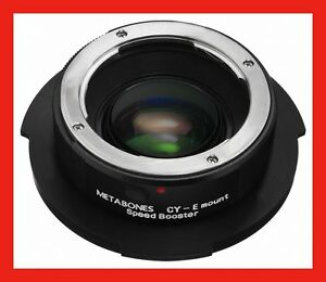 @ METABONES SpeedBooster ADAPTER Project for SONY FZ F3 F5 F55 to CONTAX Lens @