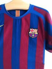 FC Barcelona 2004 - 2005 Home football shirt jersey camiseta Nike Size- S