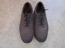 Men's Earth Shoe Pre-Owned Casual Earth Brown Leather size 91/2