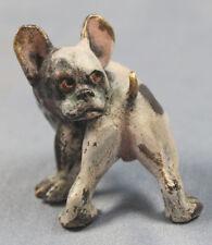 französische bulldogge wiener bronze bergmann seltenes original um 1900 hund 242