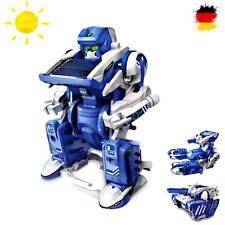 3 in 1 Konstruktions-Bauset mit Solar, Roboter-Modell, Panzer, Baukasten-Set,Neu