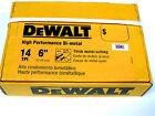 New 100 Ps Dewalt 14 Tpi Bi-metal Sawzall Reciprocating Saw Blades-Free Shipping