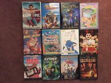 Childrens Family Adventure 12 DVD Lot: Baby Van Gogh Holly Hobbie Dinosaur