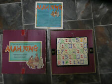 The Traditional Chinese Game of Mah Jong 144 Wooden Pieces Complete