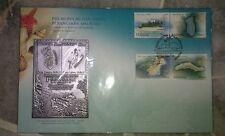 Royal Selangor Premier Pewter Stamp FDC - 2003 Islands Beaches Pulau Pantai