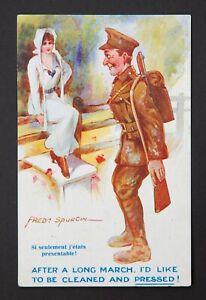 WW1 Postcard Fred Spurgin Soldier Smith Brook Lane Newton Chester Cheshire