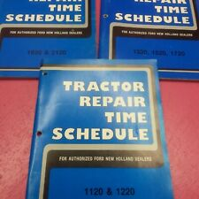 Ford Tractor Repair Time Schedule 1120122013201520172019202120 Lt289