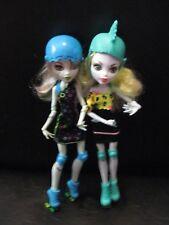 Monster High - Lagoona Blue and Frankie Stein - Skultimate Roller Maze