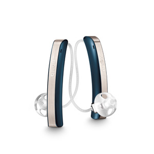 Pair of Signia Styletto Connect Rechargeable Hearing Aids + Charger! 3 Colours!