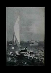 20' Trimaran Sailboat Fast Stable Tri-Hull How-To build PLANS