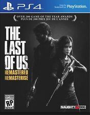The Last of Us Remastered PS4 Sony PlayStation 4 Engl /Span Brand New
