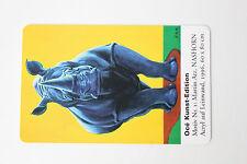 Telefonkarte Océ Kunst-Edition seltene Auflage von 2000 Stück, ungenutzt und rar