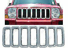 2005-2011 Jeep Commander Grille Overlay Chrome Plated NEW IWCGI/24