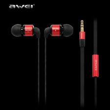 Awei Super Bass Hedsets In-ear Noise Isolating HiFi Earbuds Earphone Headphone