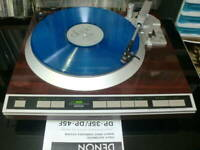 DENON DP-45F DP45F Turntable Vintage Cartrige DL-65 Working Near Mint Rare