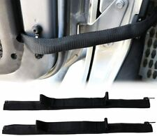 Door Limiting Check Straps Wire Protecting Harness for Jeep Wrangler Jk Jku (Fits: Jeep)