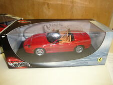 HOT WHEELS FERRARI  1 / 18  barchetta  350 pinfarina  NEW WITH box