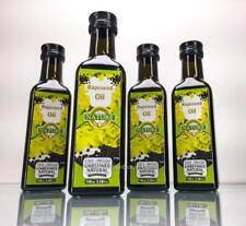 100% Rapeseed Oil All Natural Cold Pressed Unrefined Glass Cooking 400 mL - 4PK