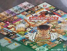 Capcom Street Fighter Monopoly 2012 game Ryu Vega Blanka  Bison tokens figures